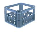 Ящик пластиковый на 20 стеклянных бутылок