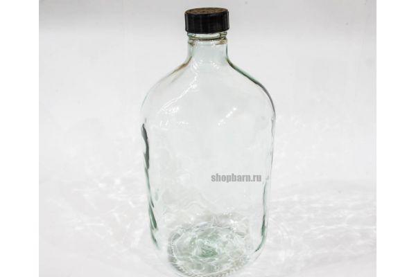 Бутыль винная Казацкая 10 л (Прозрачная)
