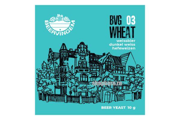 Дрожжи пивные Beervingem Wheat BVG03