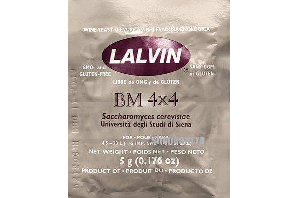 Винные дрожжи Lalvin BM 4х4